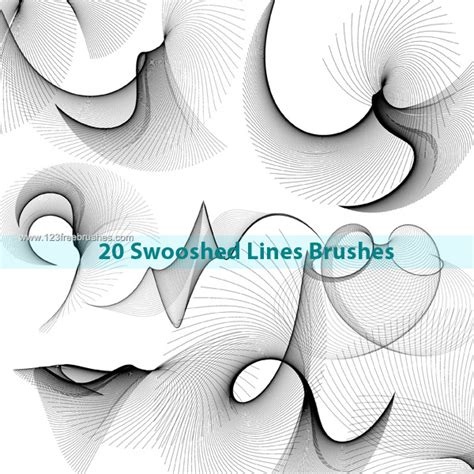 photoshop brush pattern lines swoosh lines photoshop brushes photoshop free brushes