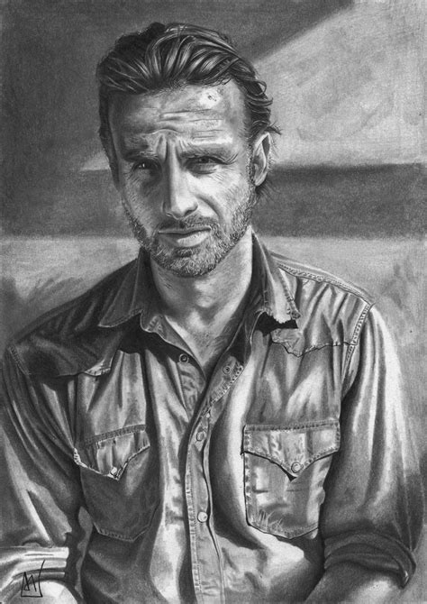 how to get your hair like rick grimes rick grimes by marcelkiss on deviantart