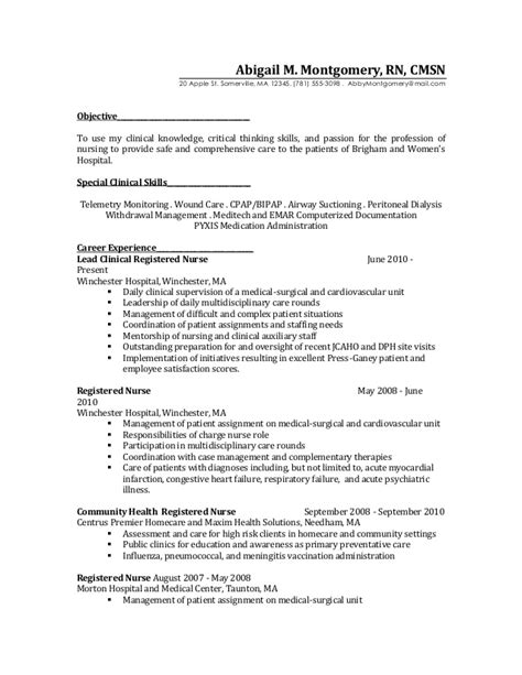 Charge Resume Description resume 2 before