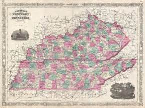 file 1866 johnson map of kentucky and tennessee