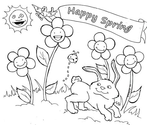 spring coloring pages spring coloring pages you can print