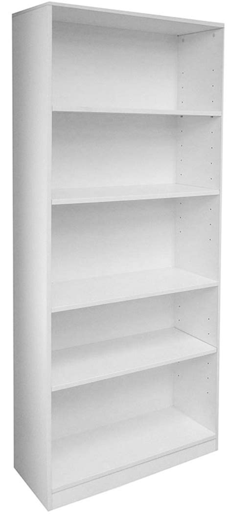 white 5 shelf bookcase rectangular white reception desk w frosted glass panel