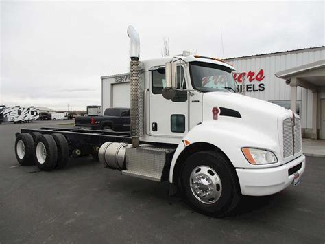 kw truck equipment 2009 kenworth t370 day cab truck for sale 112 000 miles