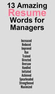 Words To Use In Cover Letter by Words To Use On A Resume Resume Badak