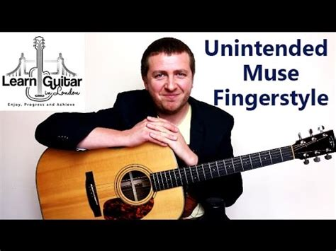 tutorial guitar muse unintended muse fingerstyle guitar tutorial grade 6
