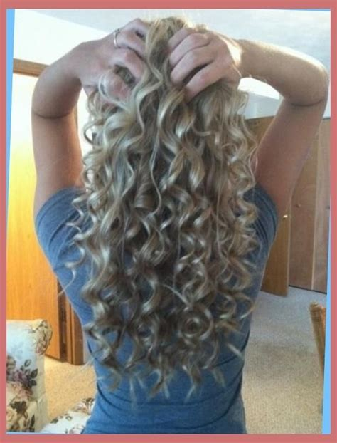 spiral perms for long hair long hair spiral perm with regard to comfy right hs