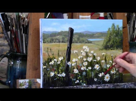 watercolor tutorial for beginners youtube eletragesi daisy acrylic painting images