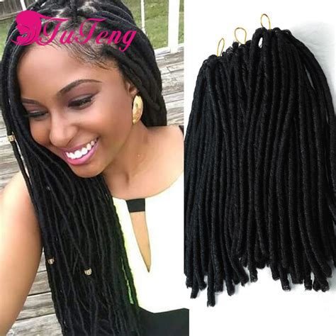 faux locks dreads prices best faux locs dreadlock synthetic braiding hair crochet
