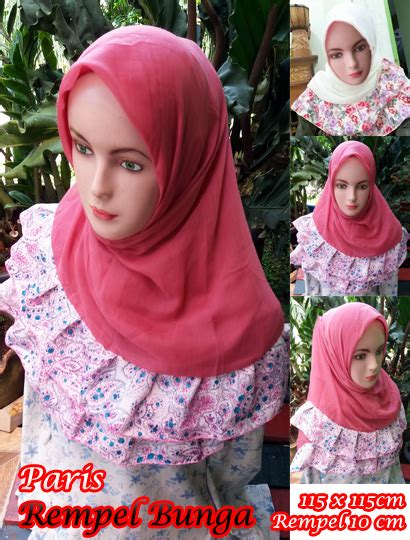 Simple Pet Serut Kain Buble Crepe hijabbiz is beautiful