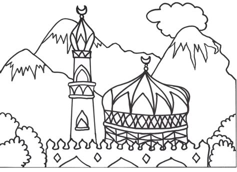 Islamic Coloring Pages Printable islamic coloring pages az coloring pages