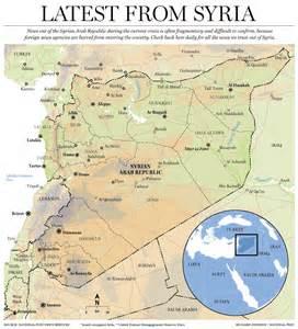 Syria Map World by Syria Map World