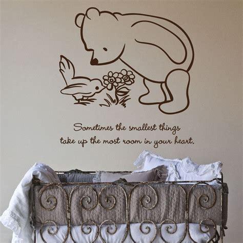 Winnie The Pooh Stickers For Walls muurversiering babykamer interieur insider