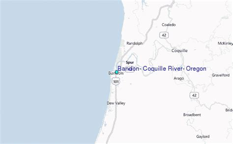Coos Bay Tide Table by Bandon Coquille River Oregon Tide Station Location Guide