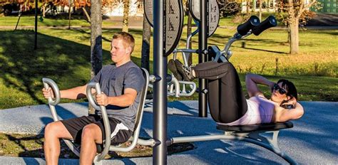 Landscape Structures Fitness Outdoor Fitness Equipment General Recreation Inc