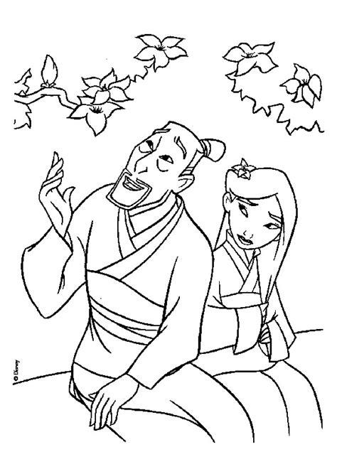 nedlasting film le retour de ben gratis mulan principesse disney da colorare 1167