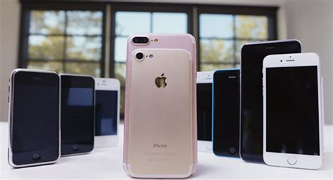 iphone 7 plus dummy unit compared to previous generation models in new tech news
