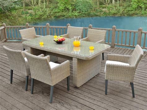 ensemble table chaise jardin chaises salle a manger resine