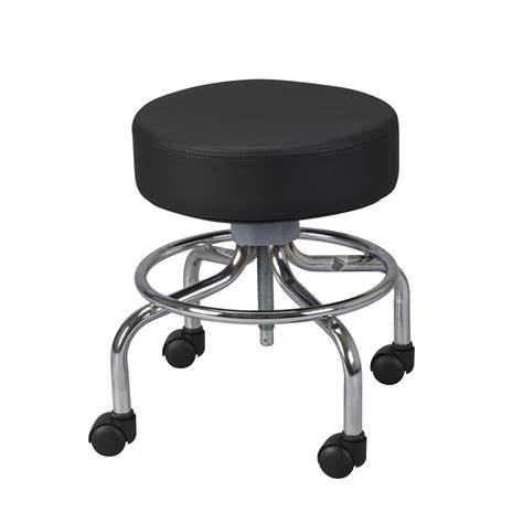 Doctor Stool With Wheels by Drive Deluxe Wheeled Stool