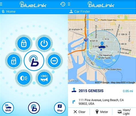My Hyundai Blue Link by Hyundai Blue Link Car Monitoring App For Android Wear