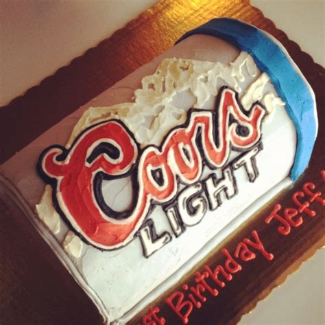 coors light can cake by 2tarts bakery new braunfels