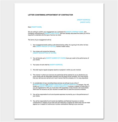 appointment letter format bond 28 appointment letter format with bond clause