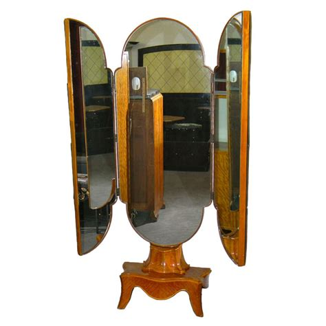 stand up dresser mirror unusual tri fold stand up antique mirror bedroom art