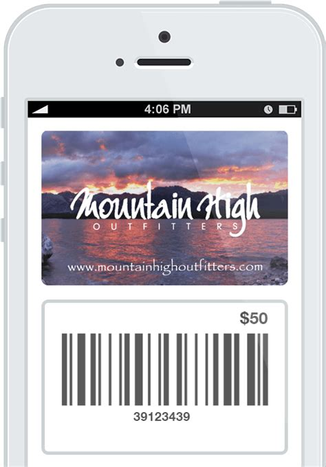 Mountain High Gift Cards - sell gift cards online instagift
