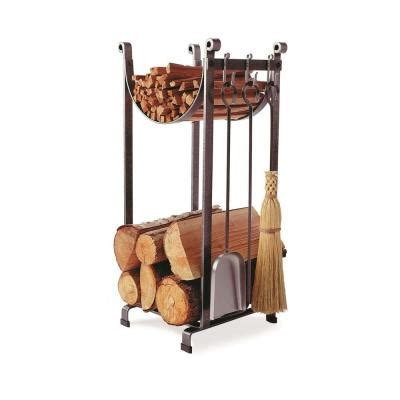 Home Depot Log Rack by Enclume Sling Log Rack Fireplace Tools With Hammered Steel Finish Lr2t Hs The Home Depot