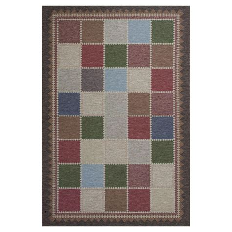 all weather rugs patio kas rugs quilted charm brown ivory 5 ft 3 in x 7 ft 7 in all weather patio area rug