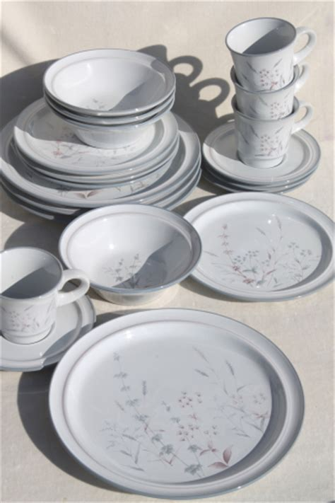 japanese pattern dinnerware noritake woodstock pattern dinnerware set for 4 vintage