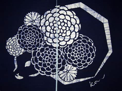 Tutorial Segiempat Batikascarf Original kyoto noren sb japanese batik door curtain navy blue chrysanthemum 85 x 45 cm tablinstore