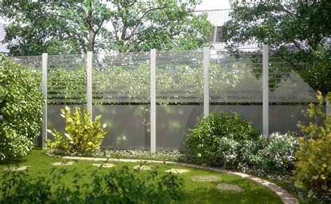 garten überdachung glas garten sichtschutzzaun sichtschutz glas