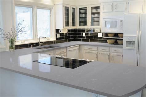 How To Install Backsplash Tile In Kitchen grey savoie pentalquartz