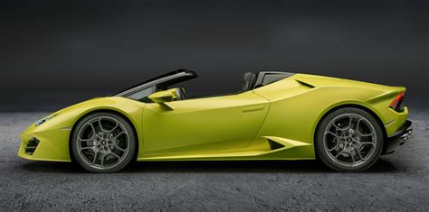 Lamborghini For Sale In Australia by 2017 Lamborghini Huracan Rear Wheel Drive Spyder Revealed