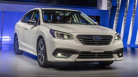 Subaru Legacy 2020 Interior by 2020 Subaru Legacy Revealed At Chicago Auto Show Autoblog
