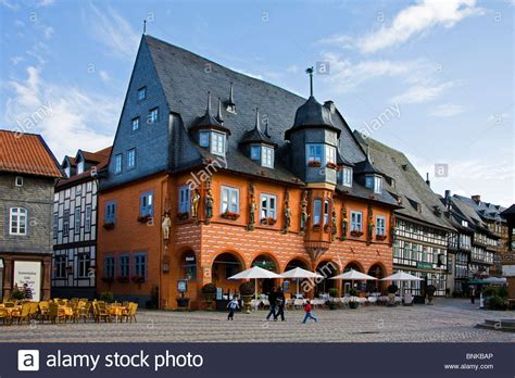 place deutschland germany lower saxony goslar marketplace world cultural