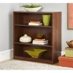 Mainstays Home 8 Shelf Bookcase Espresso mainstays 3 shelf bookcase medium oak walmart com