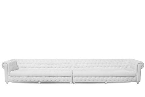 Chesterfield Sofa White 16 Inch White Chesterfield Sofa High Style Rentals
