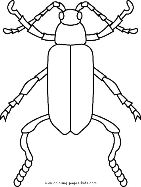 free coloring pages of bug jar
