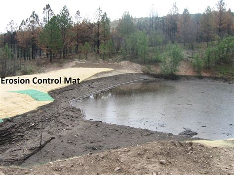 Erosion Matting Cost by Erosion Barrier Applications After Wildfire