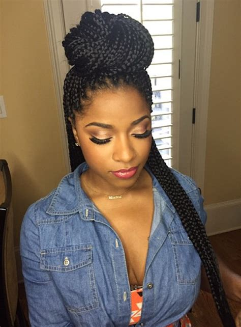 Toya Wright Side Braid Style | toya wright side braid style toya wright side braid