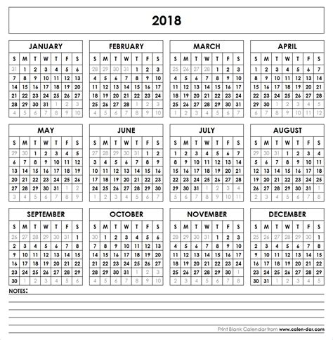 yearly calendar templates for word get free blank template of year 2018 printable calendar