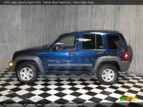 patriot blue pearlcoat 2002 jeep liberty sport 4x4