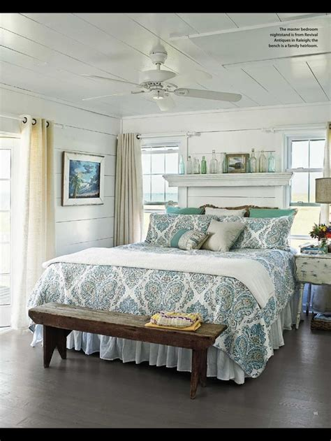 bedroom curtains pinterest cottage style bedroom my beach cottage decorating ideas