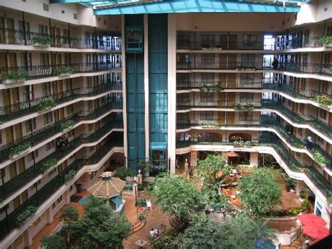 The Dining Room Miami atrium picture of embassy suites by hilton anaheim north