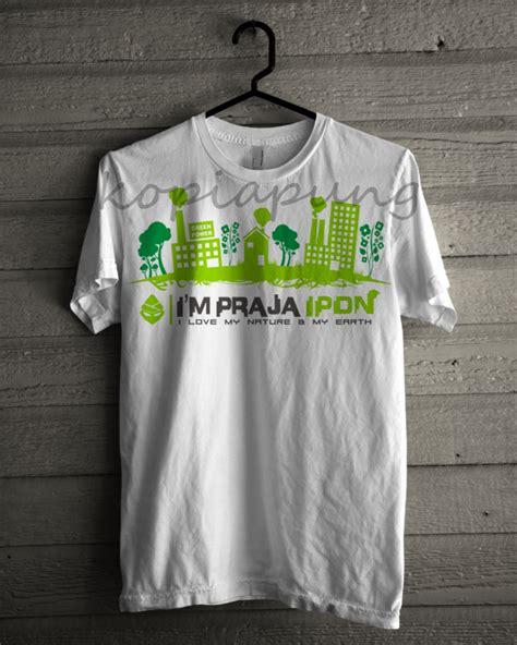 design kaos go green kopiapung kaos ipdn go green
