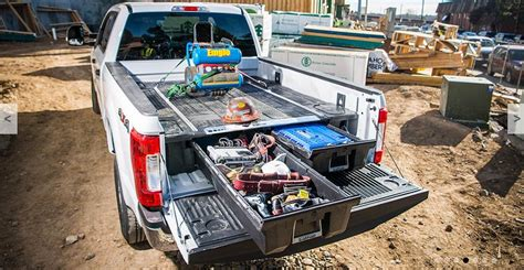 decked truck bed cool gear decked truck bed toolbox f150online