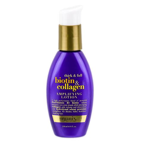 Collagen Lotion organix biotin collagen lifying lotion 4 oz organix biotin collagen lifying lotion