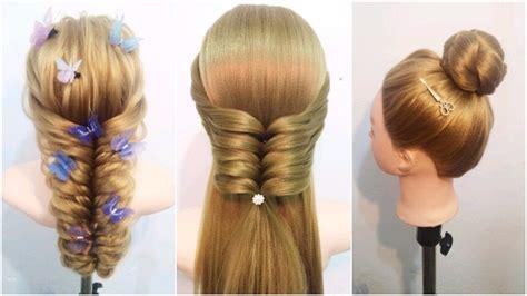 amazing hairstyles hacks 10 amazing hairstyles tutorials life hacks for girls youtube