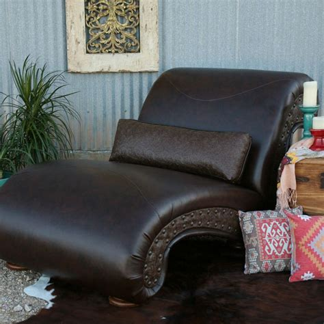 double chaise lounge leather shop dark brown leather double chaise lounge